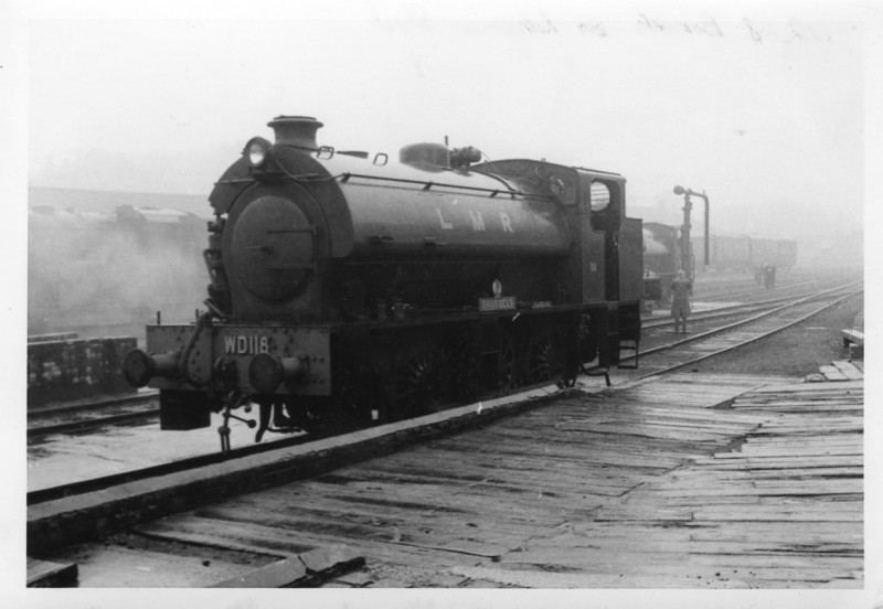 The oil burning WD118 Brussels at Longmoor.