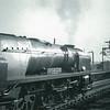 The 18 00 Waterloo to Salisbury departs Basingstoke on 29/06/66 with 34100 Appledore.