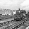 73115 King Pellinore departs Woking on 27/11/65 with the 12 39 SO Waterloo to Basingstoke - a train catering for London workers who had to complete a 5 1/2 day week.