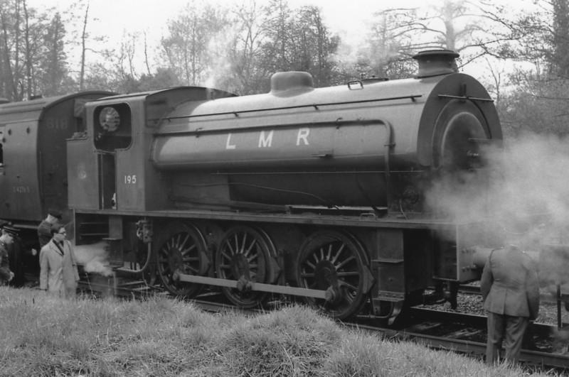 0-6-0ST WD195 at Longmoor.