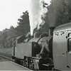 Mickey 41287 waits time at Baynards on 19/05/65 with the 18 15 Horsham to Guildford - she was also transferred to Eastleigh upon cessation of these services and withdrawn in July 66.