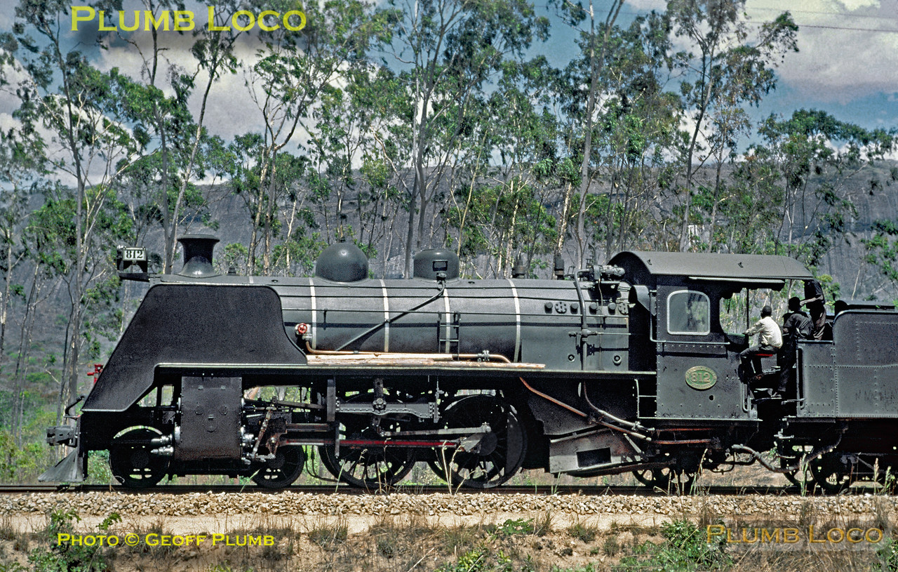 CFM 4-4-2 No. 812, unlnown location, Moçambique,