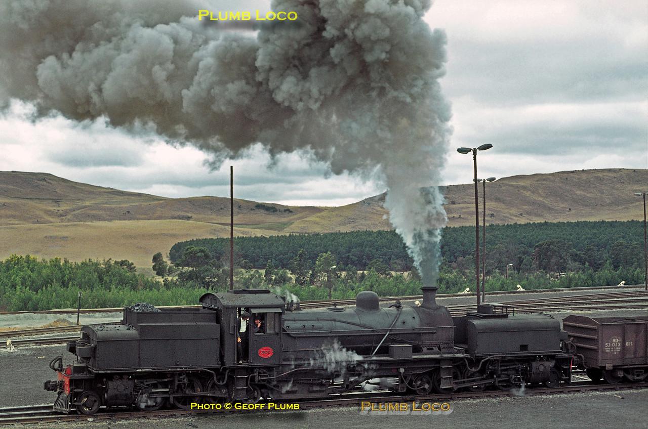 SAR GCA Class 2-6-2+2-6-2 Garratt No. 2620, Donnybrook, 28th August 1972
