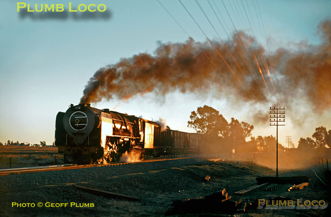 SAR25, near Bloemfontein, 4th September 1972