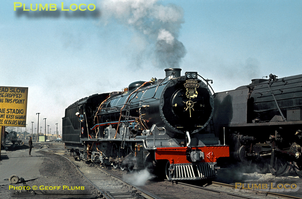 SAR No. 2110, Kaserne Depot, Johannesburg, 20th August 1972