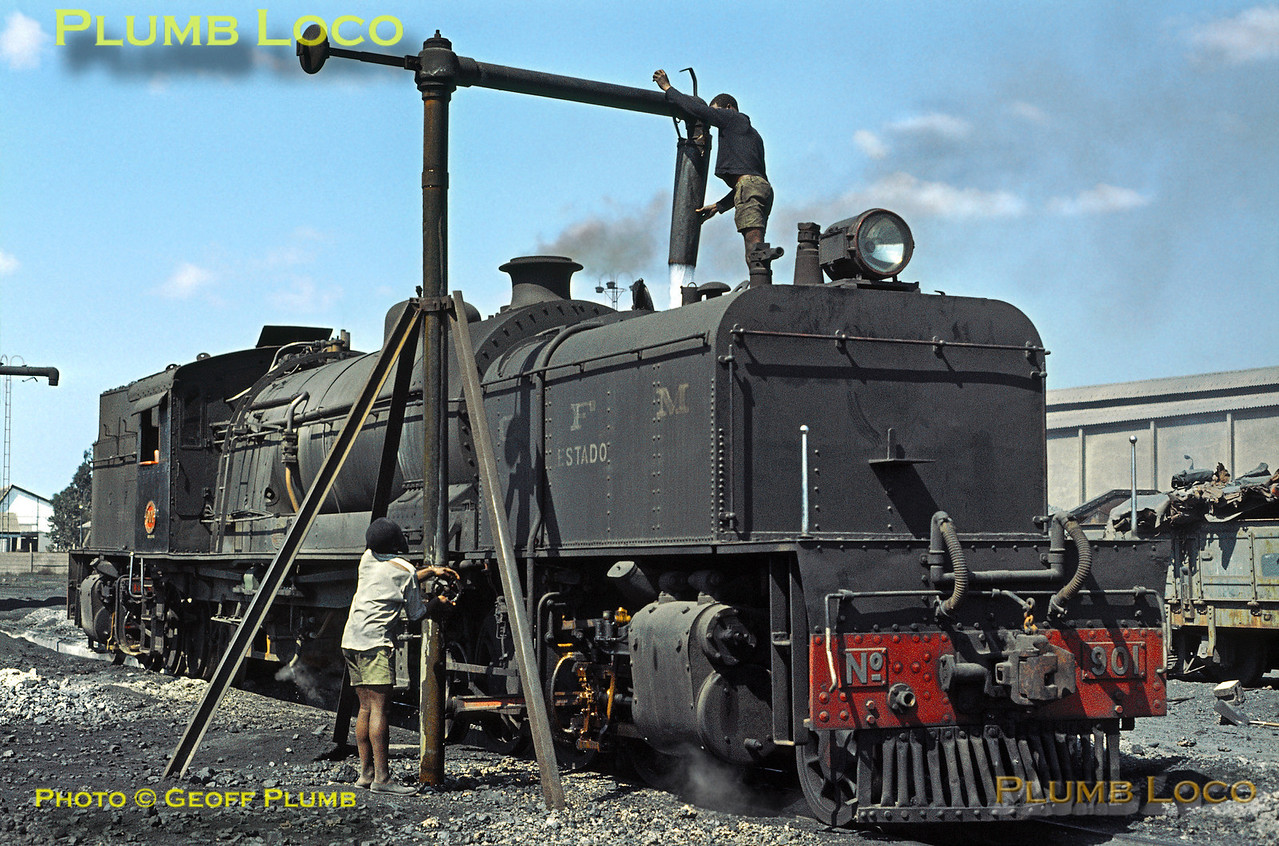 CFM No. 901, Lourenço Marques Shed, 22nd August 1972
