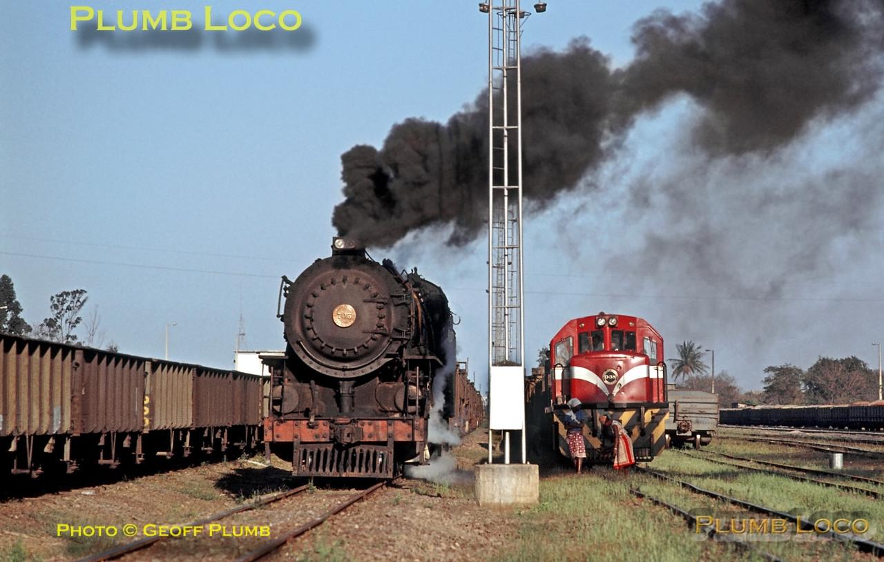 CFM No. 705 & D38, Machava Junction, 22nd August 1972