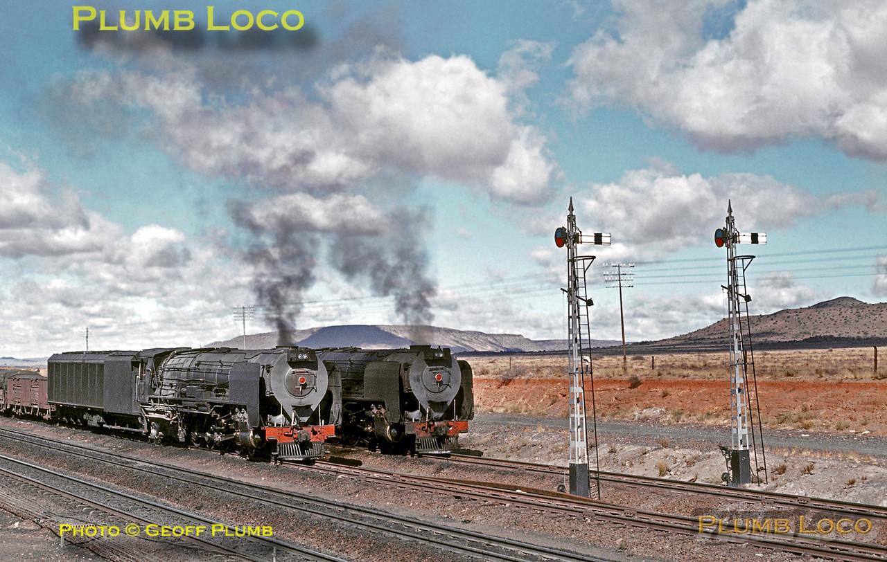 SAR Class 25 Condensers, Britsville, 4th September 1972