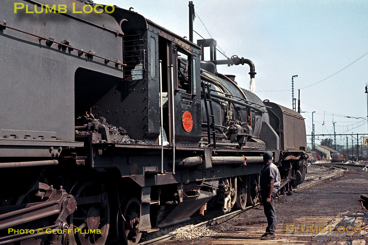 SAR No. 4024, Gingindlovu Depot, 24th August 1972