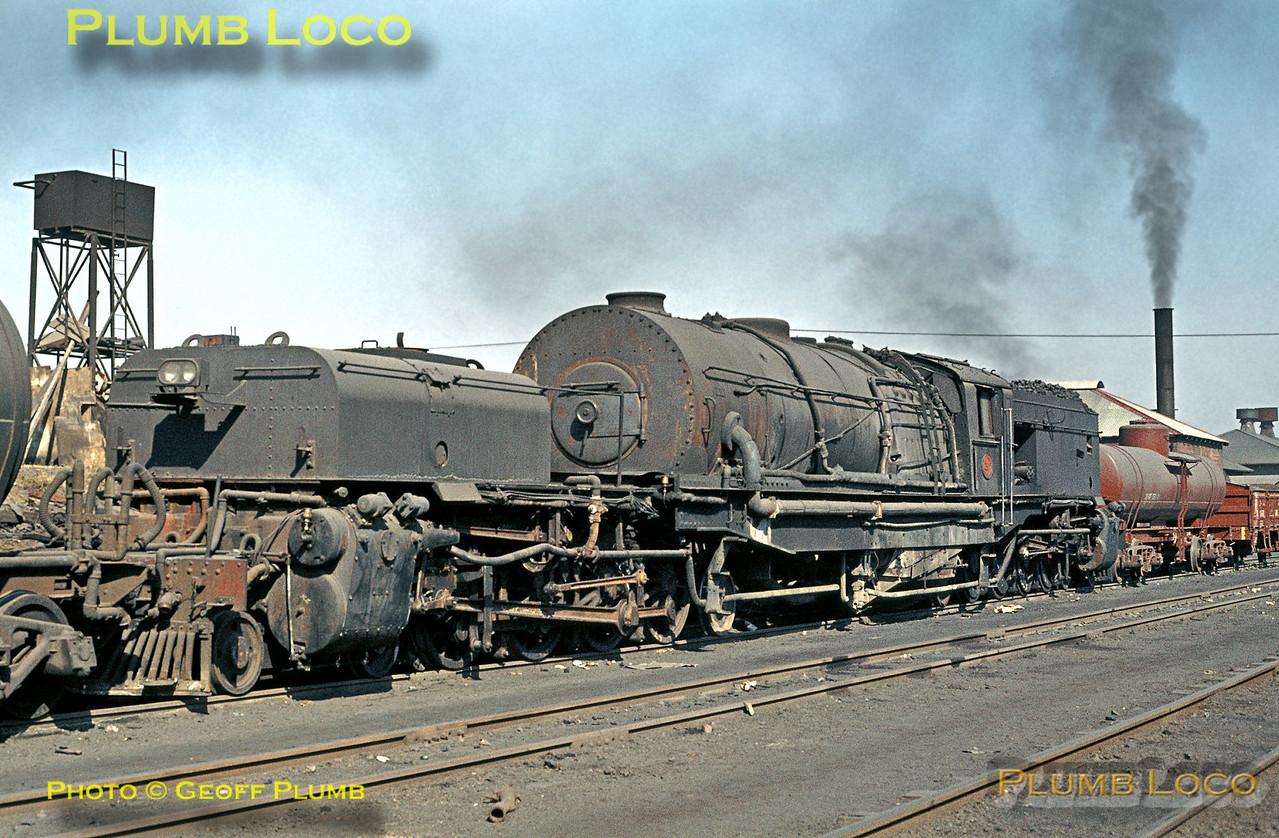SAR Class GM Beyer-Garratt, Capital Park, 20th August 1972