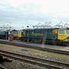 66420 & 70009 - Southampton Maritime - 23 February 2014