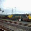 70015, 66567 & 70008 - Southampton Maritime - 23 February 2014