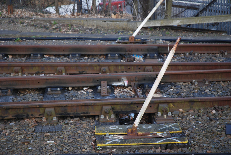 Redhill Up Yard<br /> No 1 siding out of use