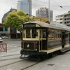 The Christchurch tramway, a very modern operation with vintage cars.