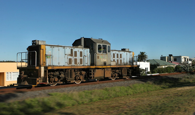 A road switcher at speed south of Napier, NI.