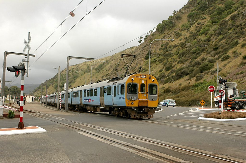 A southbound leaving for Wellington.