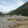On the other side of the pass, Arthurs Pass station is a shade of its former self.