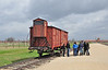 This freight car which is a memorial to all those who perished in the Holocaust, is seen next to the infamous unloading platform at Birkenau extermination camp. I cannot even imagine the suffering people endured, my heart felt condolence to all.