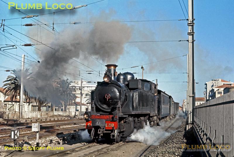 CP No. E210, Espinho, 9th November 1970.