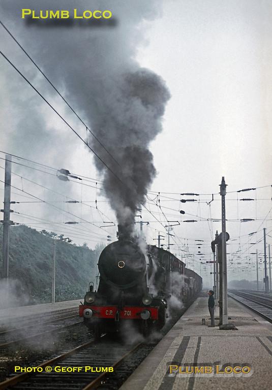 CP 701, Contumil Station, Porto, 4th November 1969