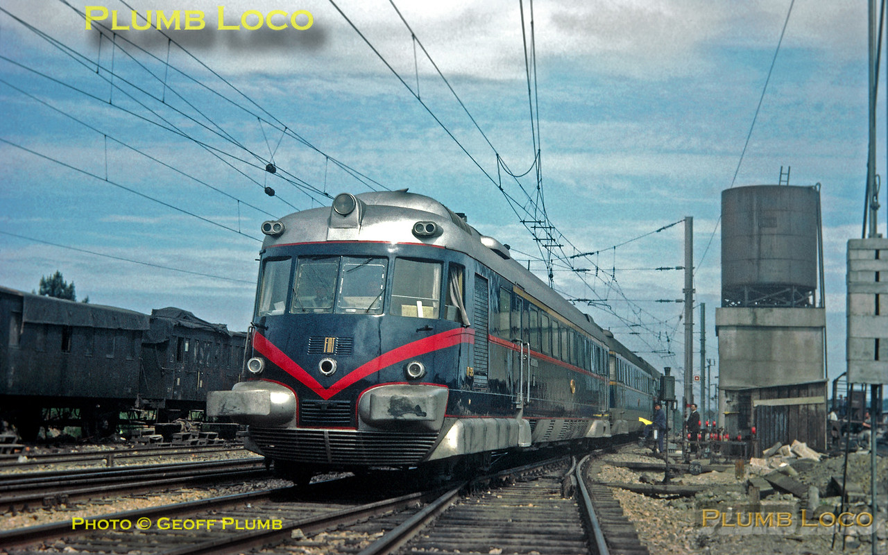 CP Fiat Railcar No. 515, Pampilhosa, 8th May 1964