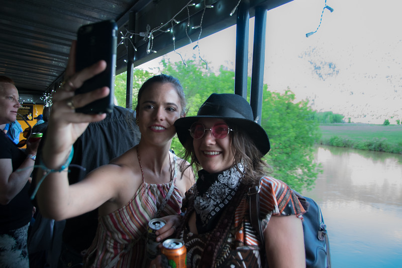 Selfies share the fun with the world!