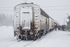 Special train for Great Moon Gathering in Moosonee 2017 February 18th.
