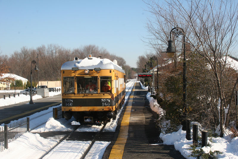 SRS 146 testing inbound at West Concord.