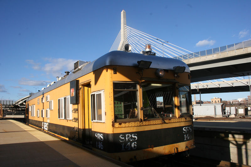 SRS 146 at North Station.