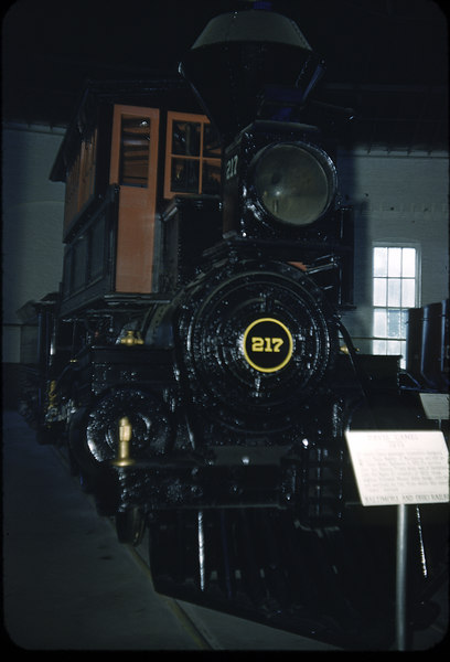 1953 photo<br /> Baltimore & Ohio RR<br /> Hayes Camel<br /> Newcastle 4-6-0<br /> Built 1875