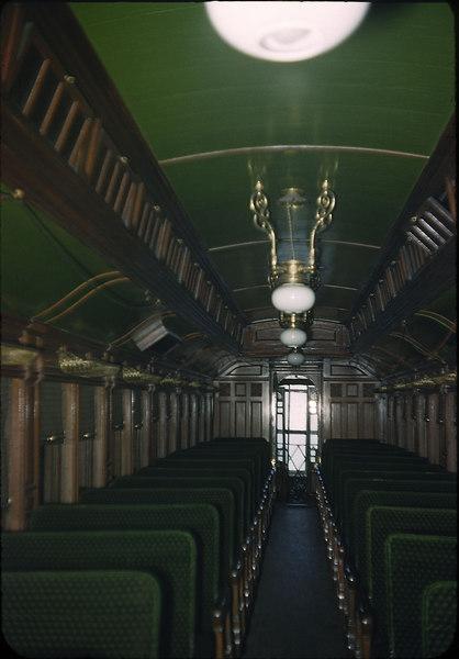 1953 photo<br /> Baltimore & Ohio Railroad<br /> Royal Blue Coach built 1898