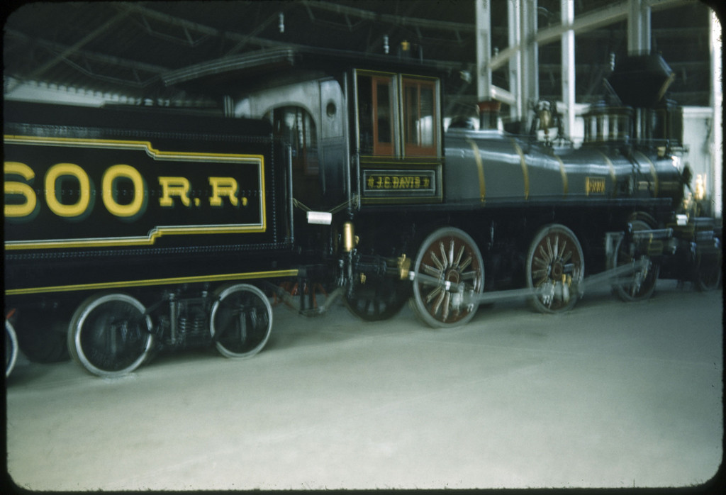 1953 photo<br /> Baltimore & Ohio<br /> J.C. Davis 2-6-0 Built 1875