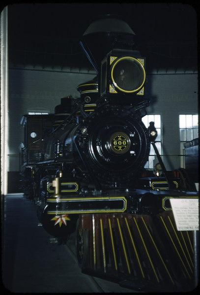 1953 photo<br /> Baltimore & Ohio RR<br /> J. C. Davis Mt. Clare<br /> Built 1875