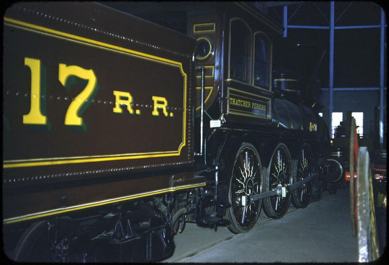 1953 photo<br /> Baltimore & Ohio Railroad<br /> Thatcher Perkins 4-6-0 Built 1863