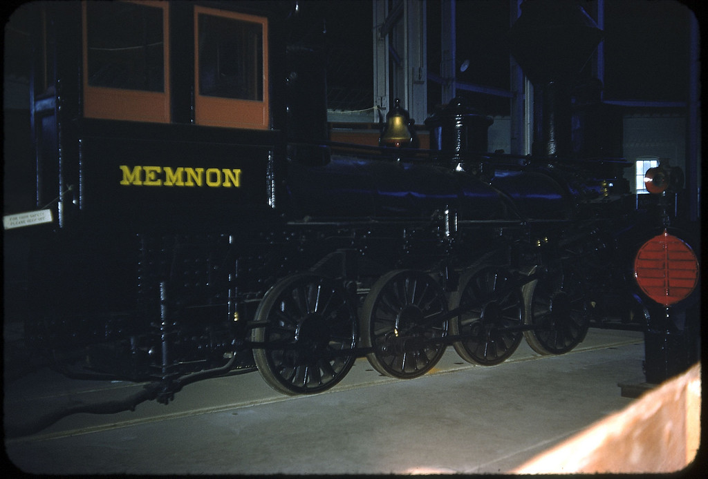 1953 photo<br /> Baltimore & Ohio Railroad<br /> Memnon Built Newcastle 1848