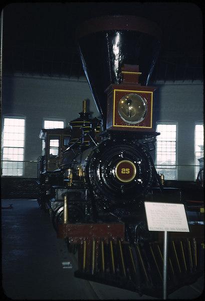 1953 photo<br /> Baltimore & Ohio Railroad<br /> No. 25 4-4-0 William Mason built 1856