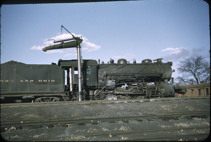 1952 photo<br /> Baltimore & Ohio Railroad<br /> Class E-27CA #2721 2-8-0 Alco built 1910