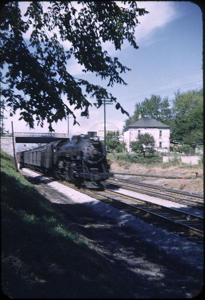 1952 photo<br /> Baltimore & Ohio RR<br /> Sydney Ohio<br /> Class P5A