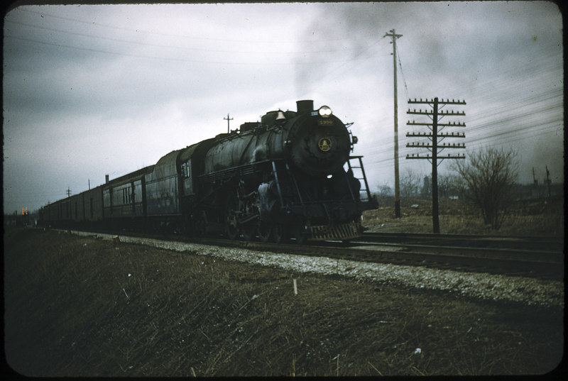 1955 photo<br /> Baltimore & Ohio Railroad<br /> 4-6-2