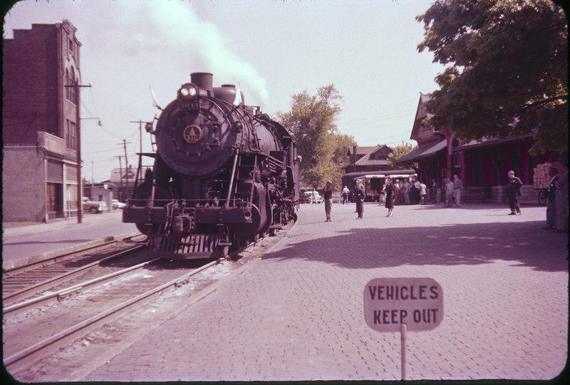 1956 photo<br /> Baltimore & Ohio Railroad