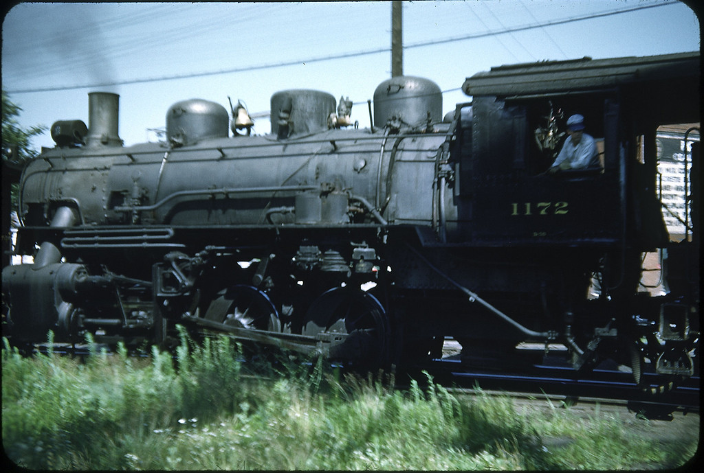 1953 photo<br /> Baltimore & Ohio RR<br /> 0-6-0 Class D-7<br /> Baldwin built 1903