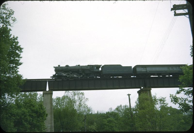 1954 photo<br /> Baltimore & Ohio Railroad<br /> Orient, OH