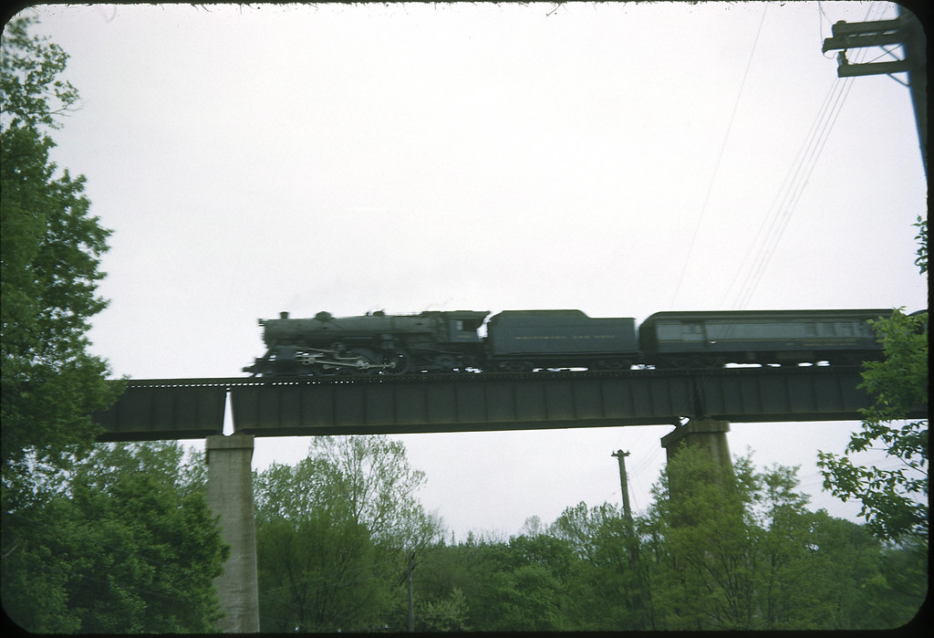 1954 photo<br /> Baltimore & Ohio Railroad<br /> Orient, OH