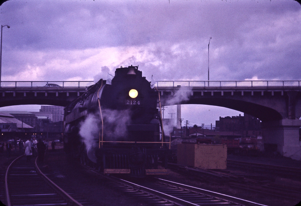 Reading #2124 4-8-4, constructed in 1948