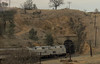 About to pass through one of the numerous tunnels on the Tehachapi Pass line.