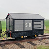 17 Brake Tender - Statfold Barn Railway 31.03.12  Frame of Motor Rail 8640.