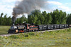Cumbres and Toltec 487 painted as 483 for their 40th Anniversary Celebration, near Chama, New Mexico.