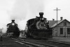 1959 or 2009?<br /> Rio Grande 487 and 488 waiting in the Chama Yard, they would soon take a freight train up to Cumbres Pass.