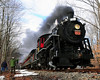 "The Massachusetts Bay Railroad Enthusiasts, and the Conway Scenic Railroad, of North Conway, NH, hosted ""Steam On The Snow"" on January 2nd, 2011. The Mass Bay RRE, chartered an entire train, powered by the Steam Locomotive #7470, for a round-trip run from the North Conway train station, to The Notchland Inn, in Hart's Location. There were a number of photo stops along the way."