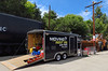 The U.P steam crew's tool trailer.
